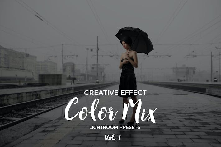 Thumbnail for Color Mix Lightroom Presets Vol. 1