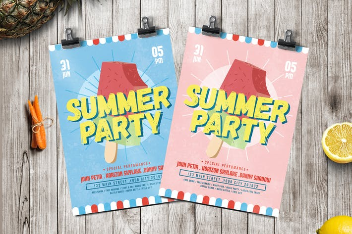 Thumbnail for Ice Summer Flyer