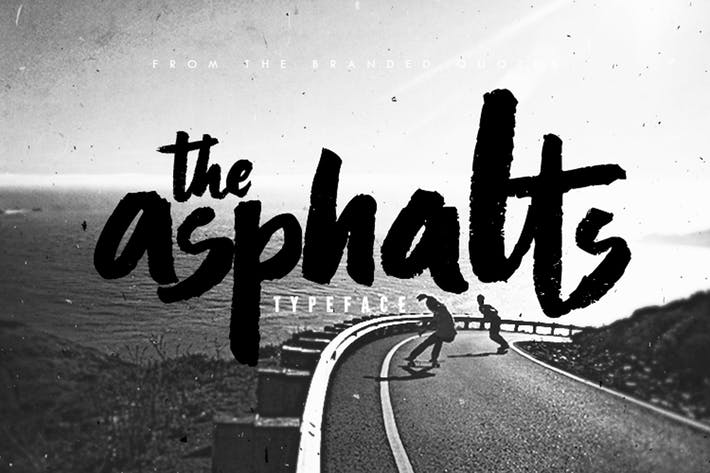 Thumbnail for Asphalts Typeface