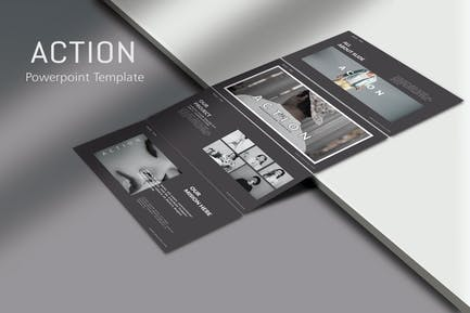 ACTION - Fashion Powerpoint Template