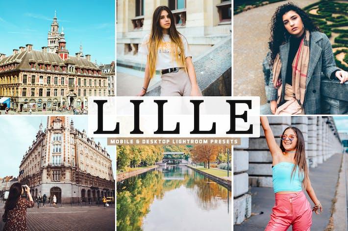 Thumbnail for Lille Mobile & Desktop Lightroom Presets