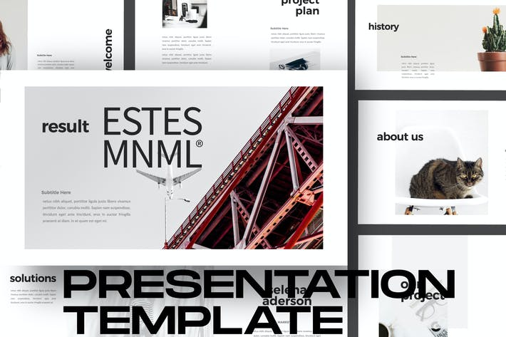 Thumbnail for ESTES - Google Slide Business Minimal Corporate