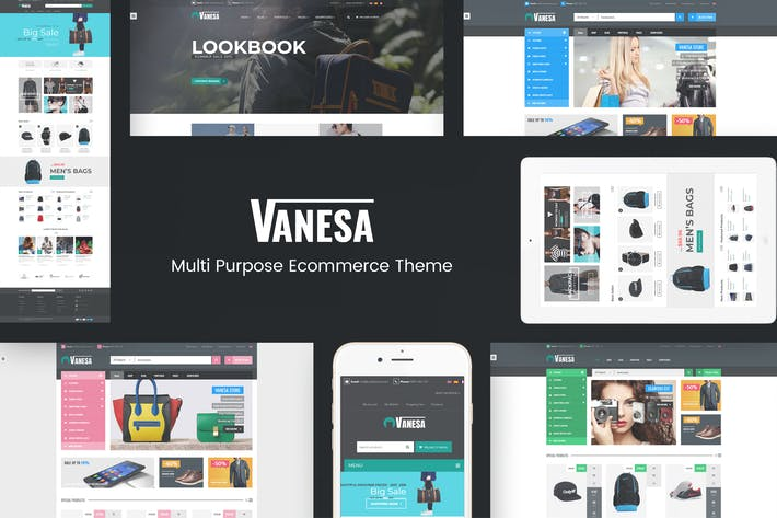Thumbnail for Vanesa - Responsive WooCommerce Fashion Theme