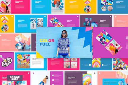 Colorful - Google Slides Template