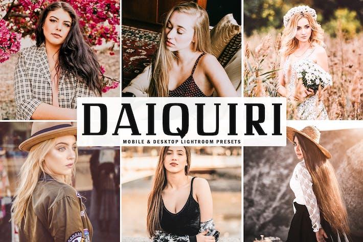 Thumbnail for Daiquiri Mobile & Desktop Lightroom Presets