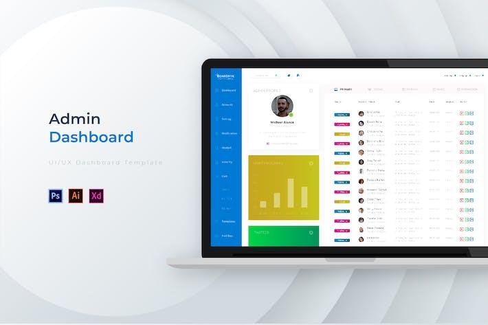 Thumbnail for Boardmin Dashboard | Admin Template
