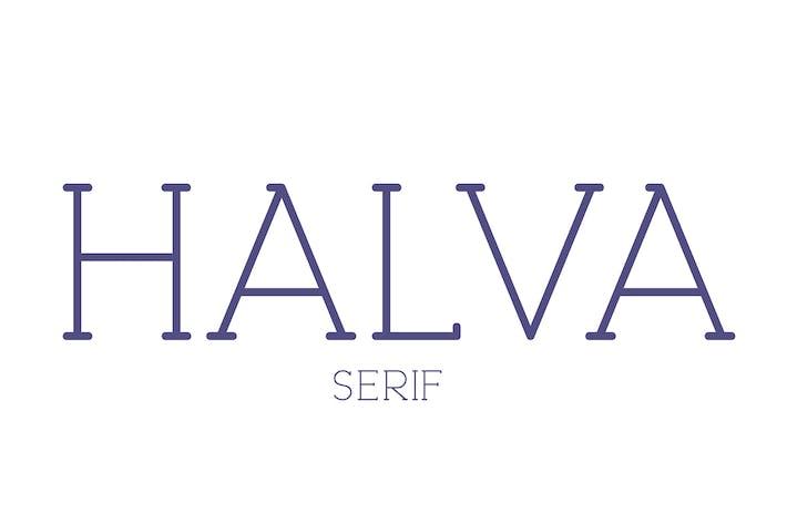 Halva Serif