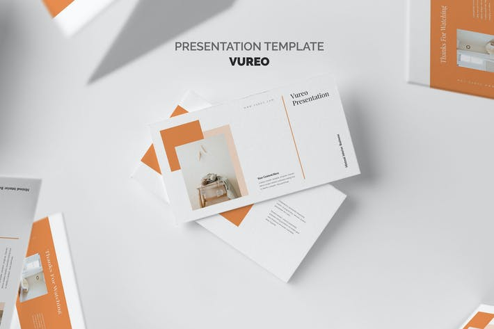 Thumbnail for Vureo : Modern Interior Design Google Slides