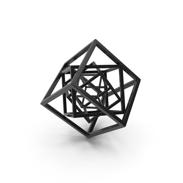 Cube in Cube Black