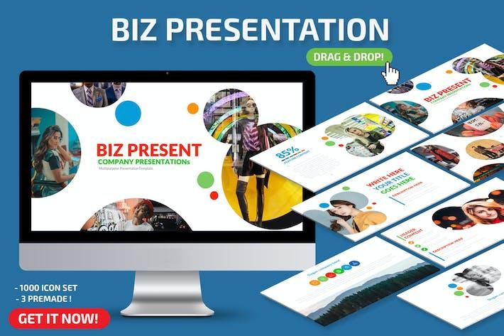 Thumbnail for Biz Powerpoint-Präsentation