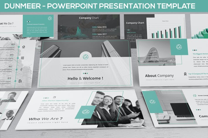 Thumbnail for Dunmeer - Powerpoint Presentation Template
