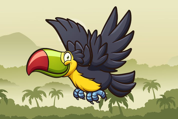 Thumbnail for Cartoon Toucan