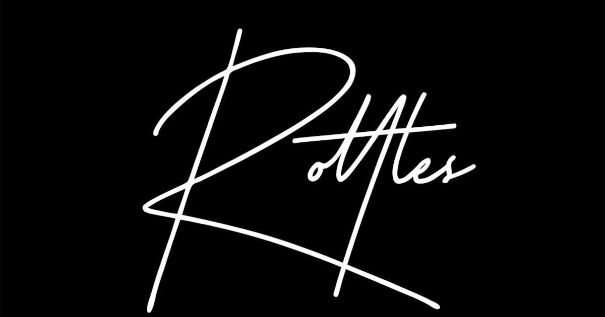 Download Rottles Signature Font by maulanacreative