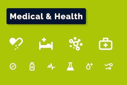 Medizin- und Gesundheit-Symbole