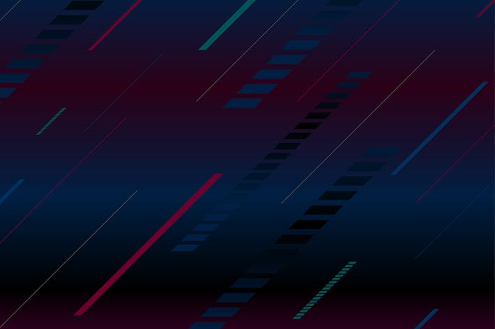 Thumbnail for Dark tech minimal geometric abstract background