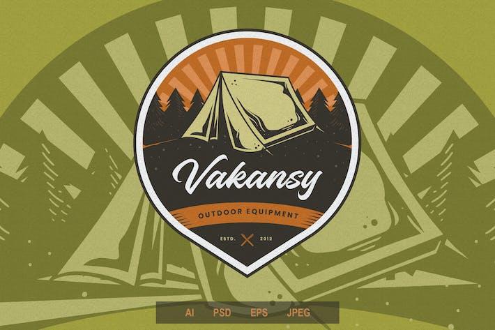 Thumbnail for Vintage Emblem - Adventure V2