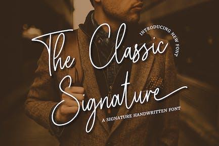 La firma clásica