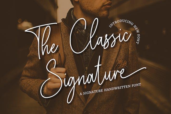 The Classic Signature