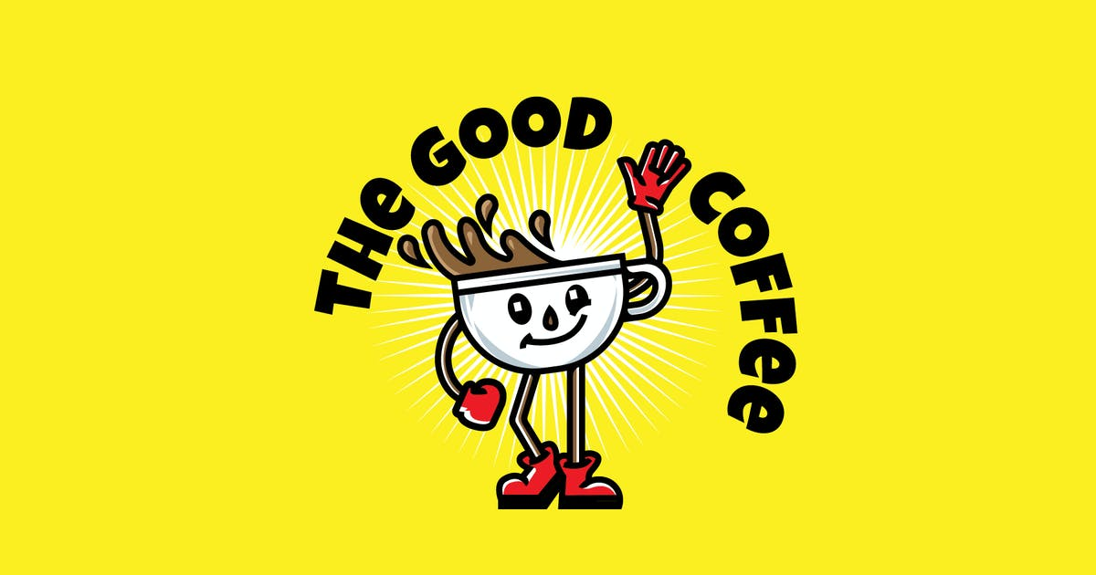 Download Good Coffee - Mascot & Esport Logo by aqrstudio