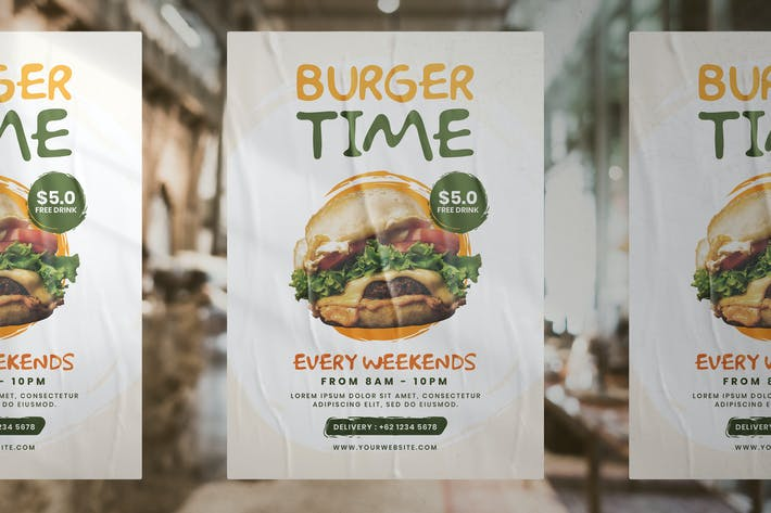 Thumbnail for Burger Promotion