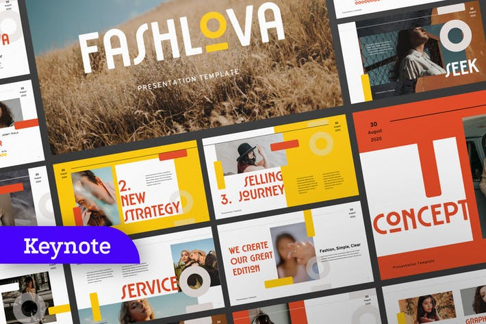 Thumbnail for Fashlova Travel Business Keynote Template