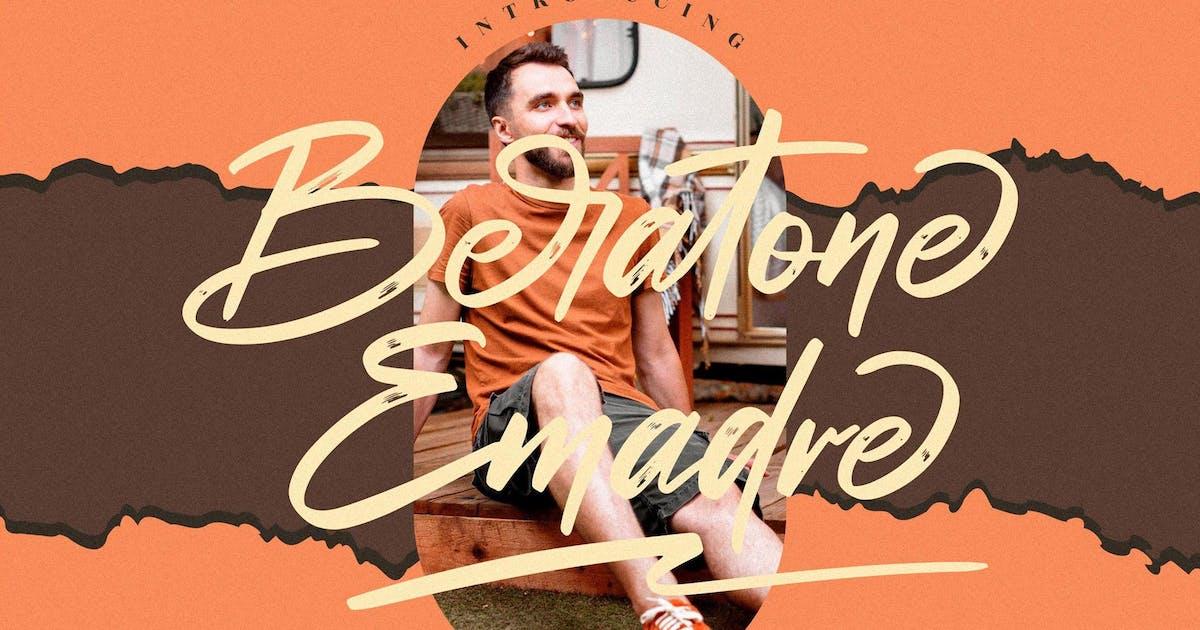 Download Beratone Emadre Brush LS by GranzCreative