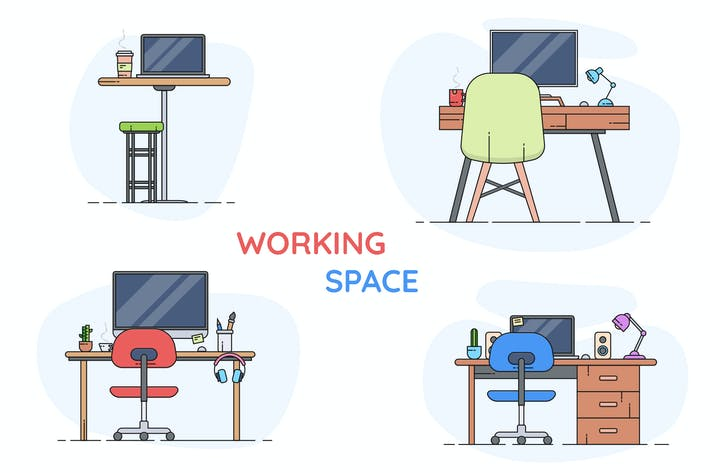 Thumbnail for Working Place