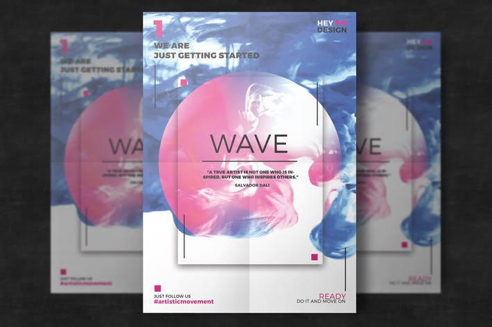 Thumbnail for Creative Abstract Flyer Poster Template