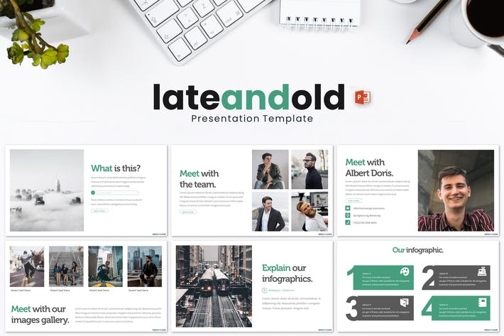 Late and Old - Powerpoint Template