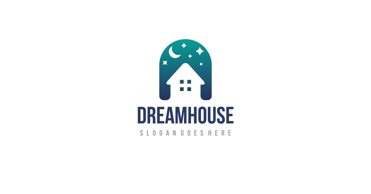 Download Dream House Logo by 3ab2ou