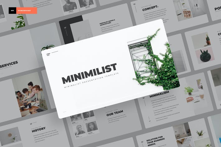 Thumbnail for Minimilis - Minimalistische Power Point Präsentation