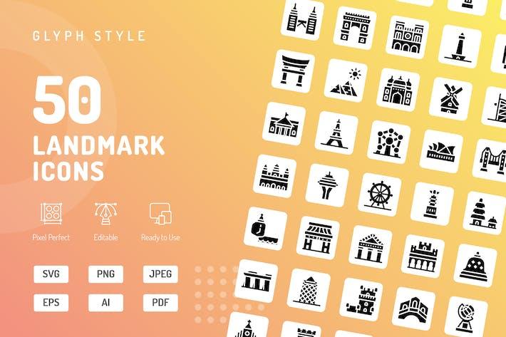 Thumbnail for Icons für Landmark-Glyphe