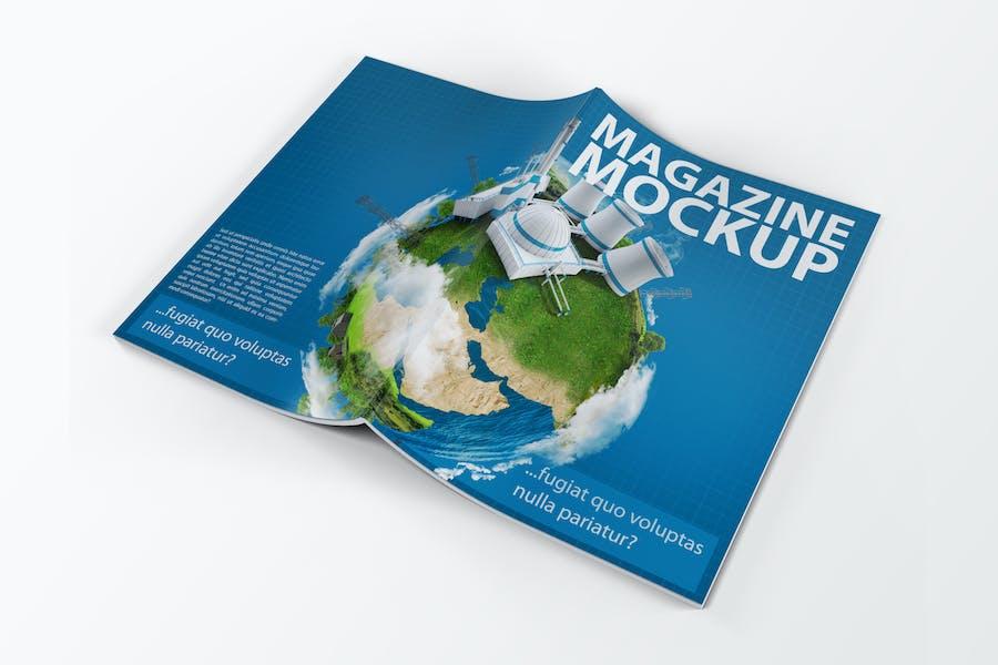 A4 Zeitschriftenkatalog Mock-Up