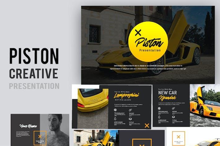 Thumbnail for Piston Creative Google Slides