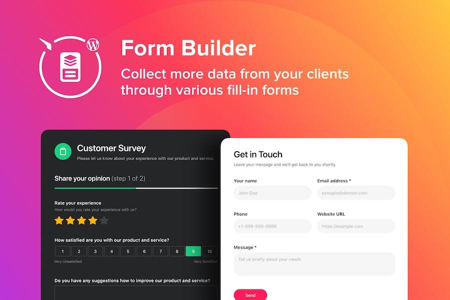 WordPress Form Builder Plugin