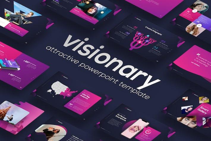 Thumbnail for Провидящий - Привлекательный дизайн PowerPoint