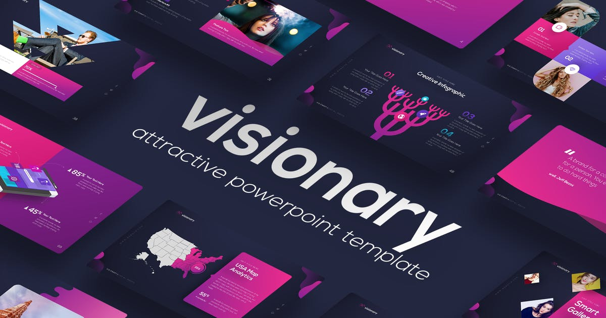 Download Visionary - Attractive PowerPoint Design by Unknow