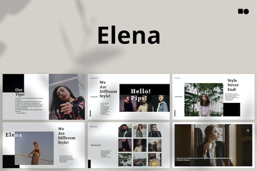 Elena - Powerpoint