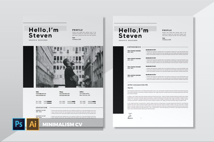 Thumbnail for Minimalism | CV & Resume