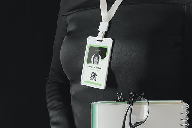 Identity Card Holder Mockup - product preview 6