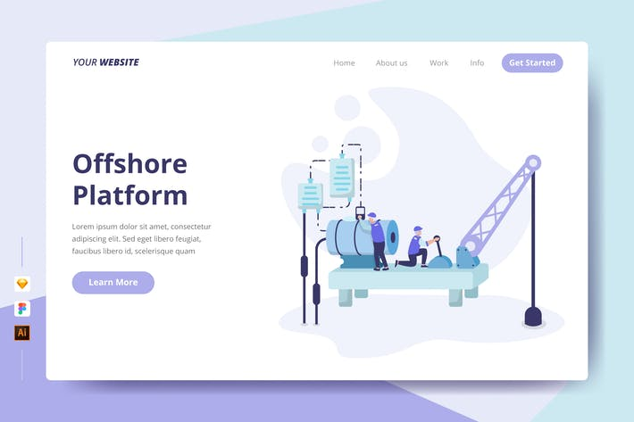 Thumbnail for Offshore Platform - Landing Page