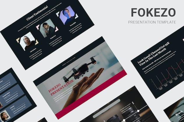 Fokezo - Video Content Creator Keynote
