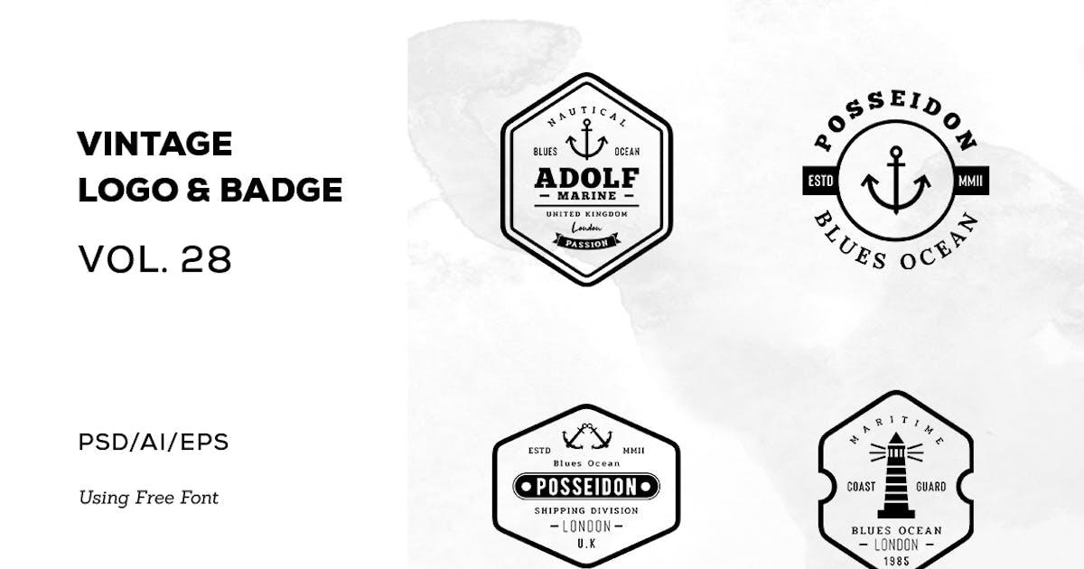 Download Vintage Logo & Badge Vol. 28 by sagesmask