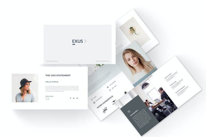 Thumbnail for Exus - Business Powerpoint Template