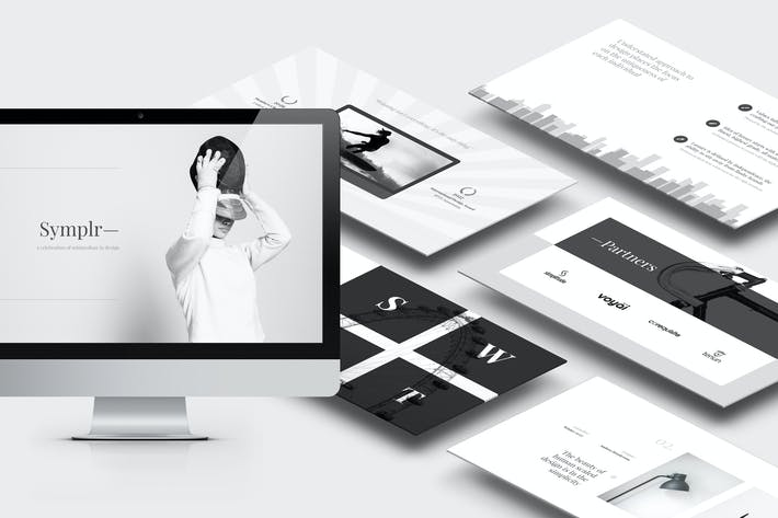 Cover Image For Symplr : Minimal, Clean and Simple Powerpoint