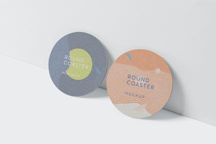 Round Coaster Mock-Up - Medium Size