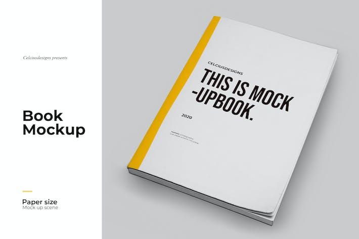 Thumbnail for Book Realistic Mockup