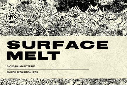 Surface Melt - Abstract Textures