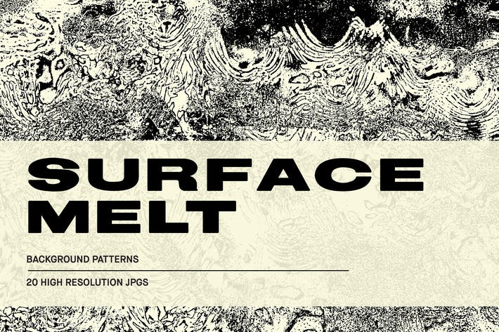 Cover Image For Surface Melt - Abstract Textures