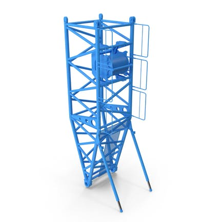 Crane S Pivot Section 10m Blue